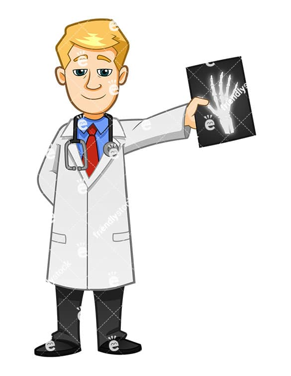 an x ray technician smiling while holding an mri friendlystock com rh friendlystock com x ray fish clipart x-ray clipart gif