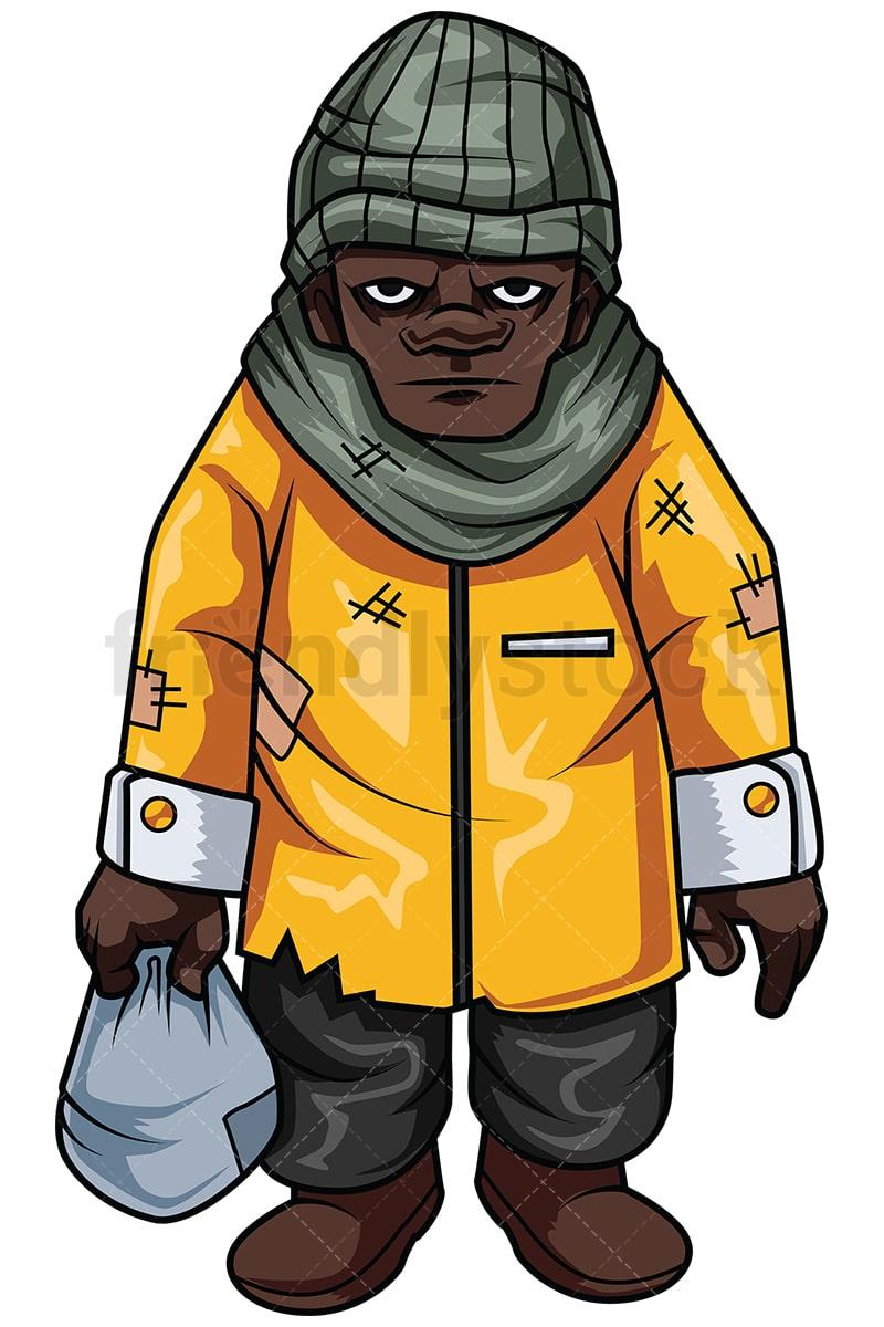 cartoon on net Cartoon Homeless Person Png