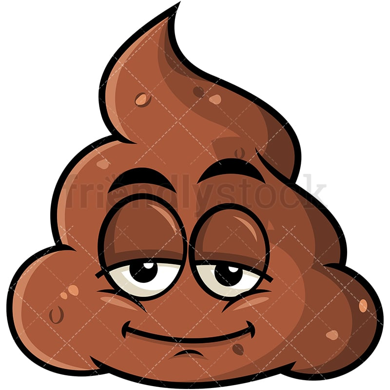 Sleepy Poop Emoji