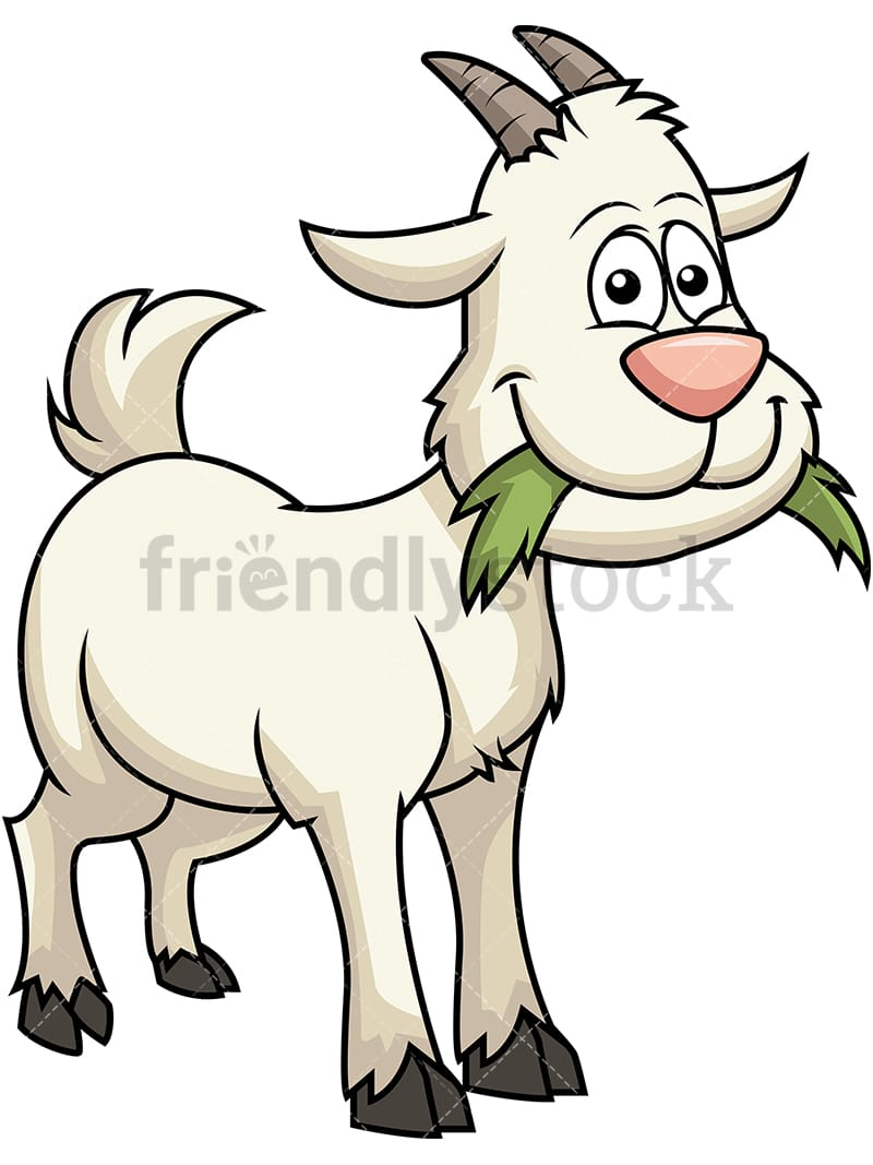 Goat Picture Cartoon - Wallpaperall
