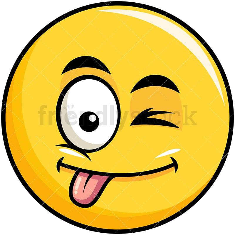 Tongue emoticon