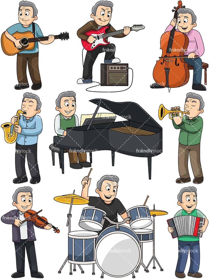 Vector Illustration Children Music Background Stock Vector (Royalty Free)  1388706230
