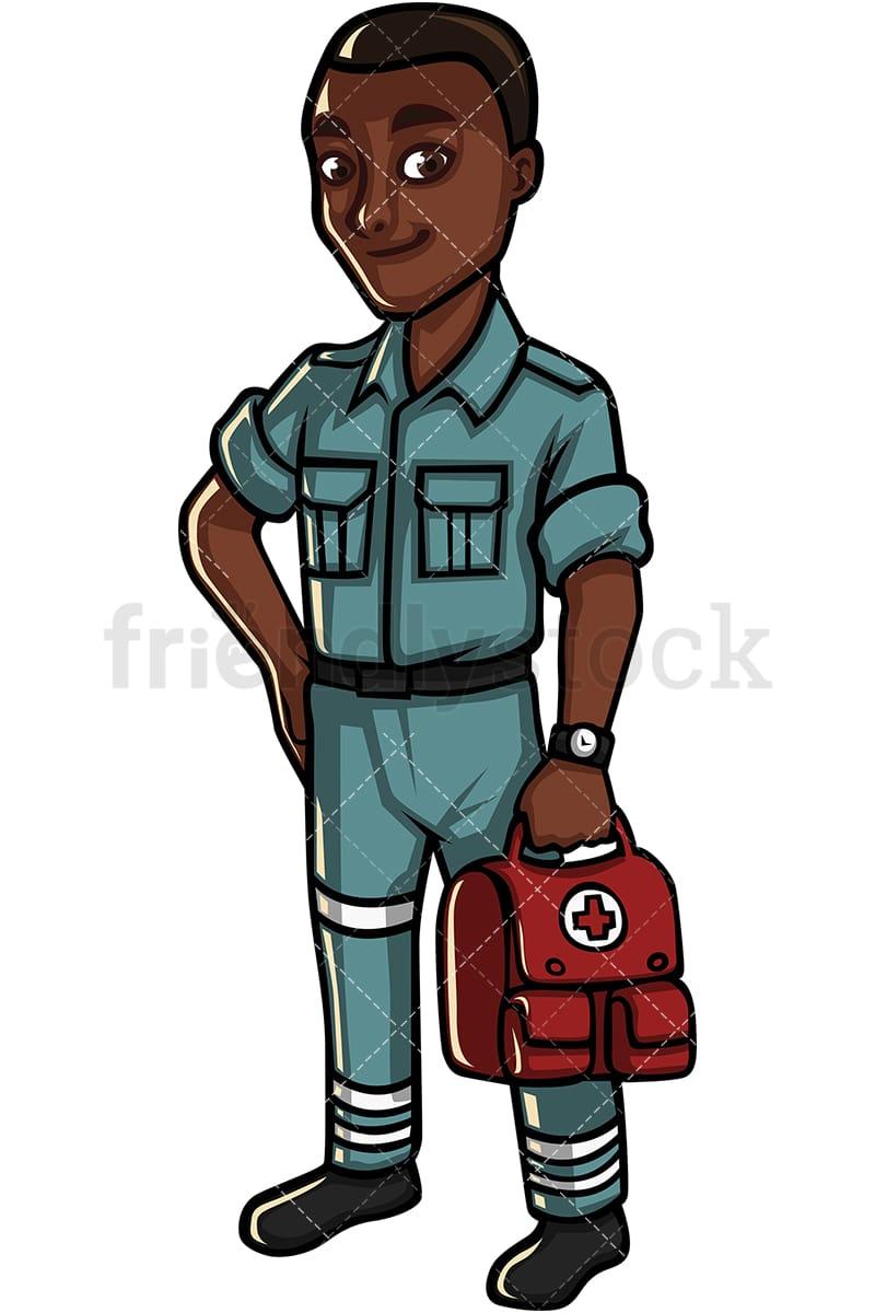 Black Man Medical Professional