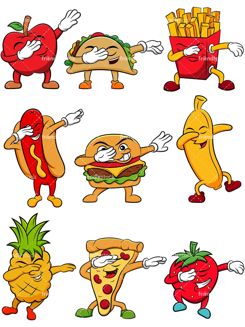 Image result for funny food clipart