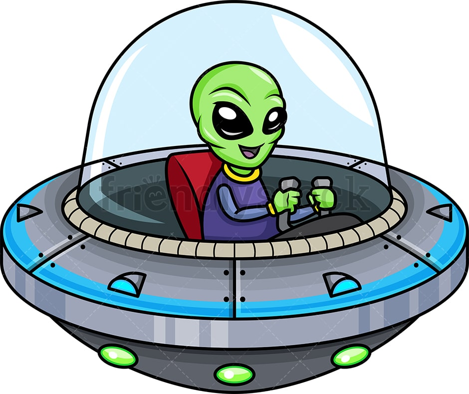 Image result for UFO clipart