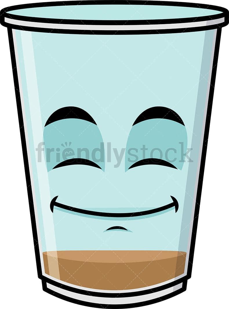 Empty Iced Coffee Emoji