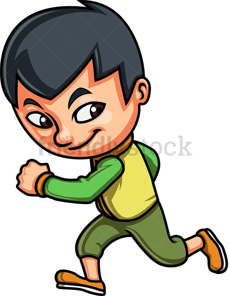 Running For Money - Business Cartoon Royalty-Free Stock Image - Storyblocks
