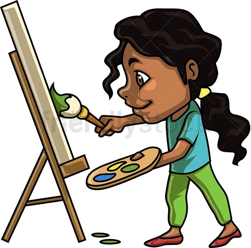 Clip Art Portrait Drawing