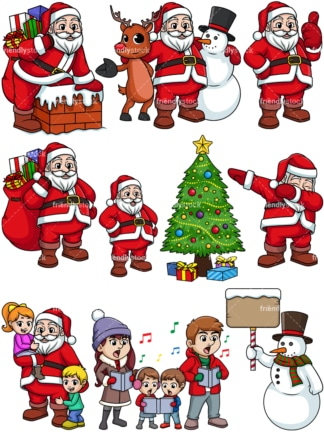 Christmas holiday. PNG - JPG and vector EPS file formats (infinitely scalable).