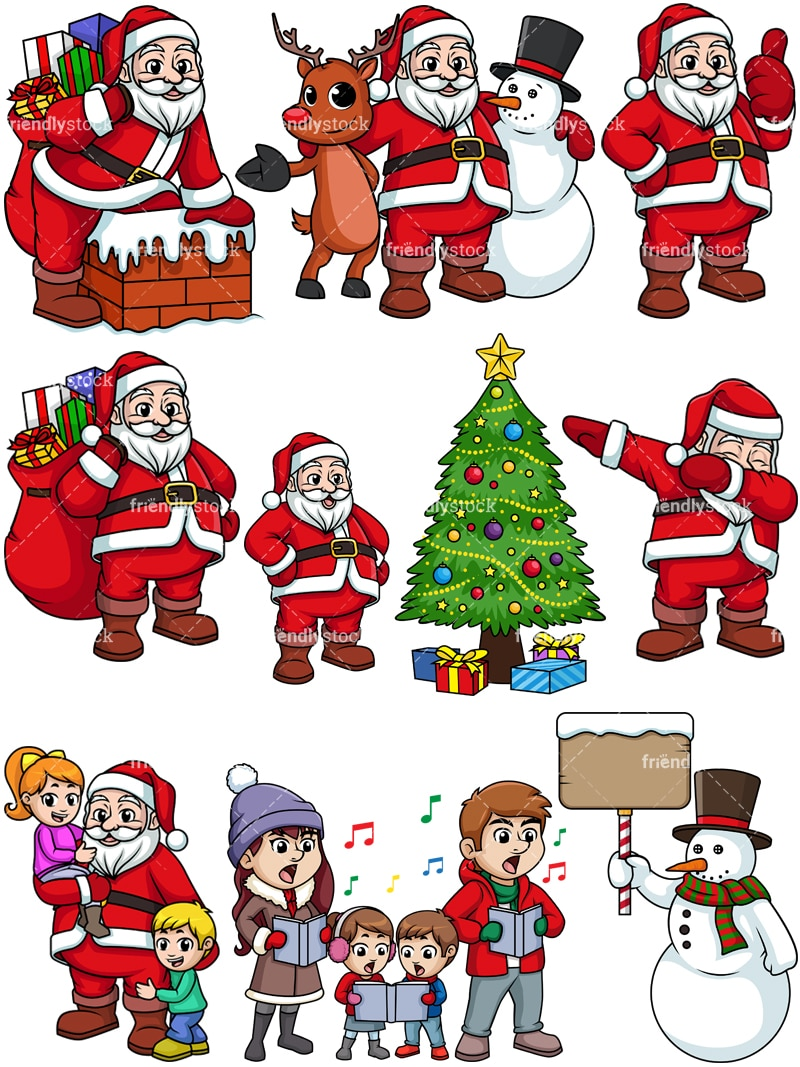 Religious Christmas Music Clipart.Christmas Collection