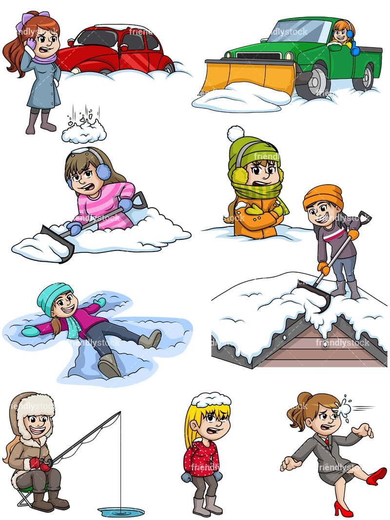Winter Driving packing list infographics for safety trip Clipart |  k22873930 | Fotosearch
