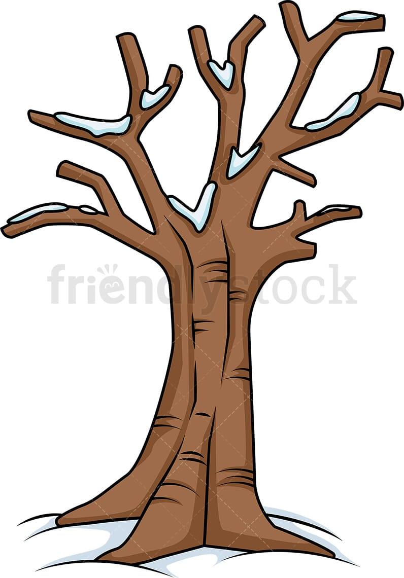 Leafless Tree With Snow On It Cartoon Clipart Vector Friendlystock Cartoon tree free vector we have about (24,016 files) free vector in ai, eps, cdr, svg vector illustration graphic art design format. leafless tree with snow on it cartoon clipart vector friendlystock