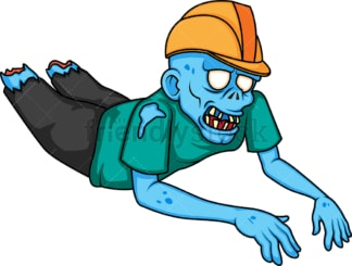 Construction worker zombie. PNG - JPG and vector EPS (infinitely scalable).