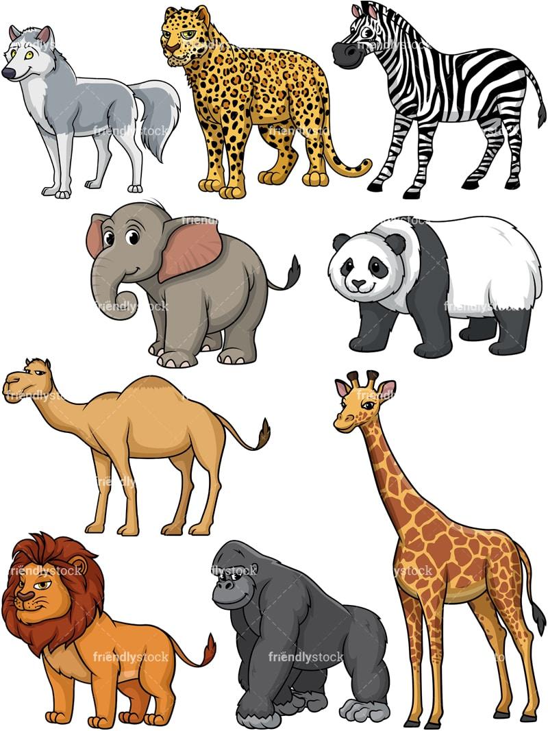 wild animals meaning