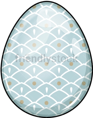 Dyed easter egg. PNG - JPG and vector EPS (infinitely scalable). Image isolated on transparent background.