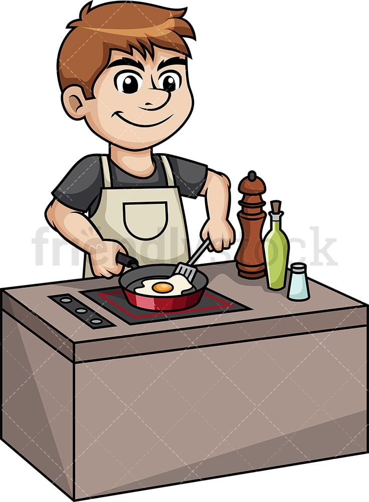 Fried Egg Scrambled Eggs Frying Food - Egg Clipart (#307212) - PinClipart