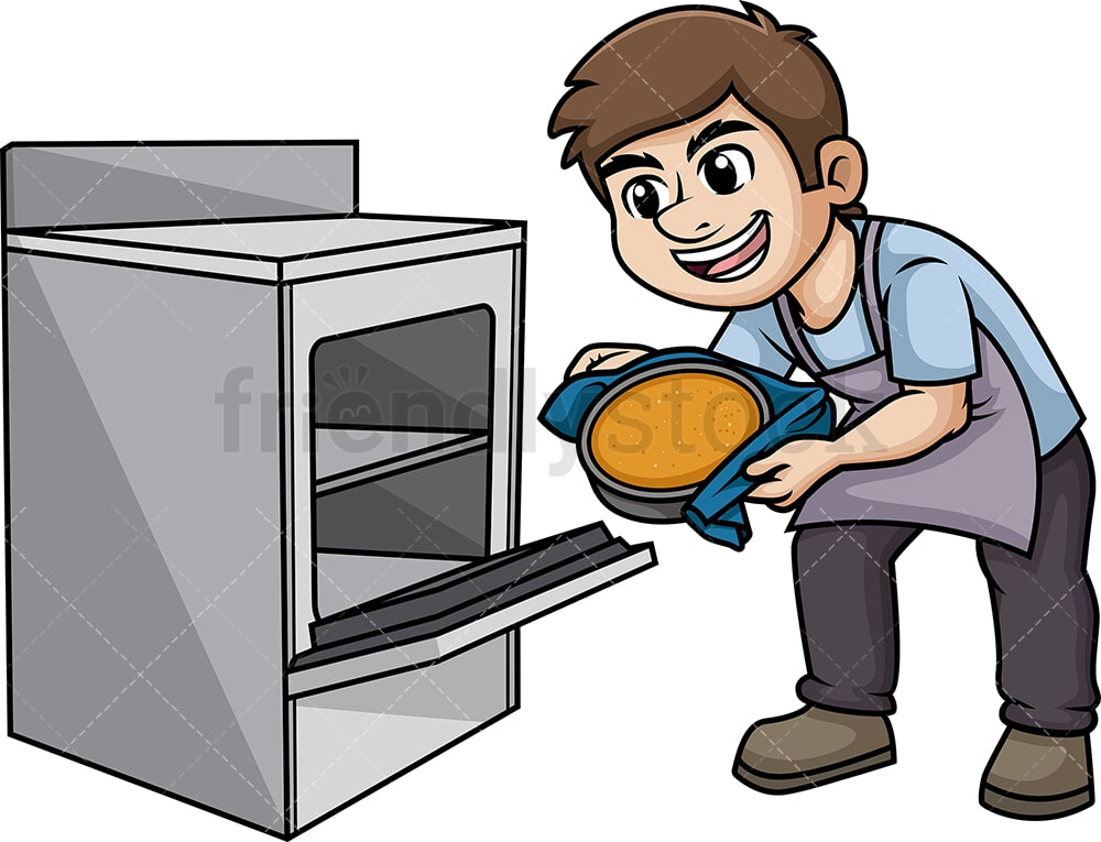 cartoon man cooking clipart. Commercial use GIF, JPG, PNG, EPS, SVG clipart  # 370528 | Graphics Factory