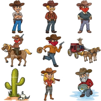 Old west. PNG - JPG and vector EPS file formats (infinitely scalable).