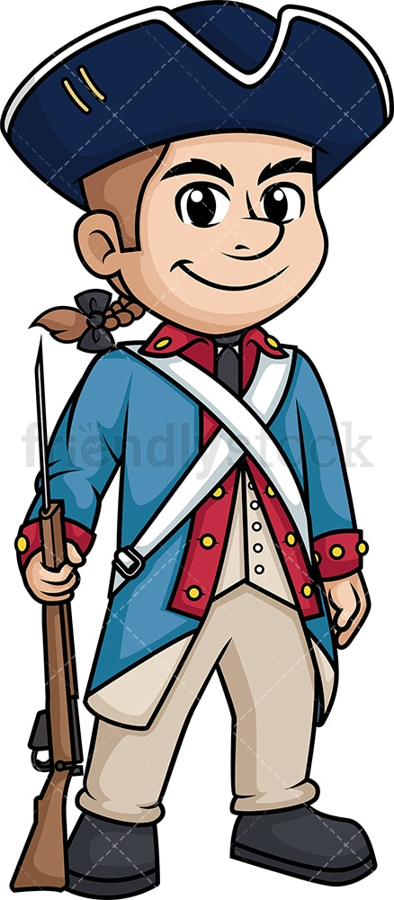 Revolutionary War American Soldier