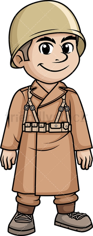 World War 2 French soldier. PNG - JPG and vector EPS (infinitely scalable).
