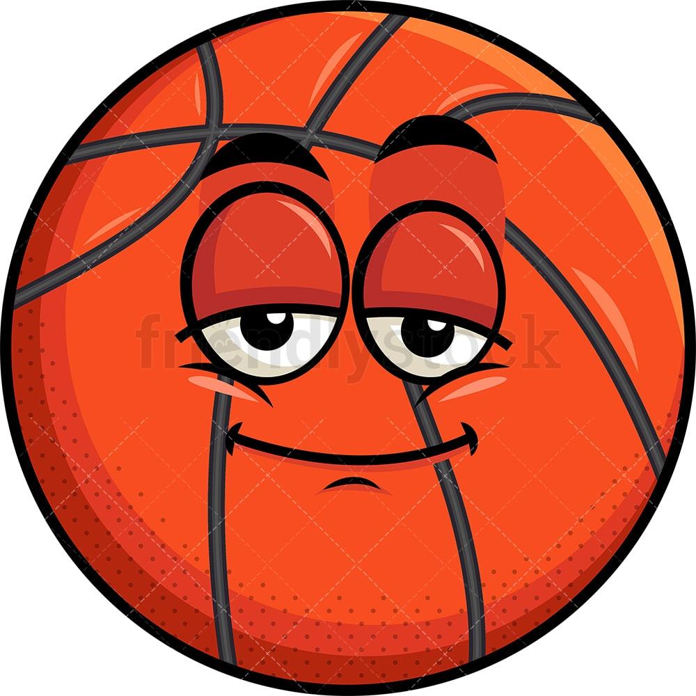 Sleepy Basketball Emoji