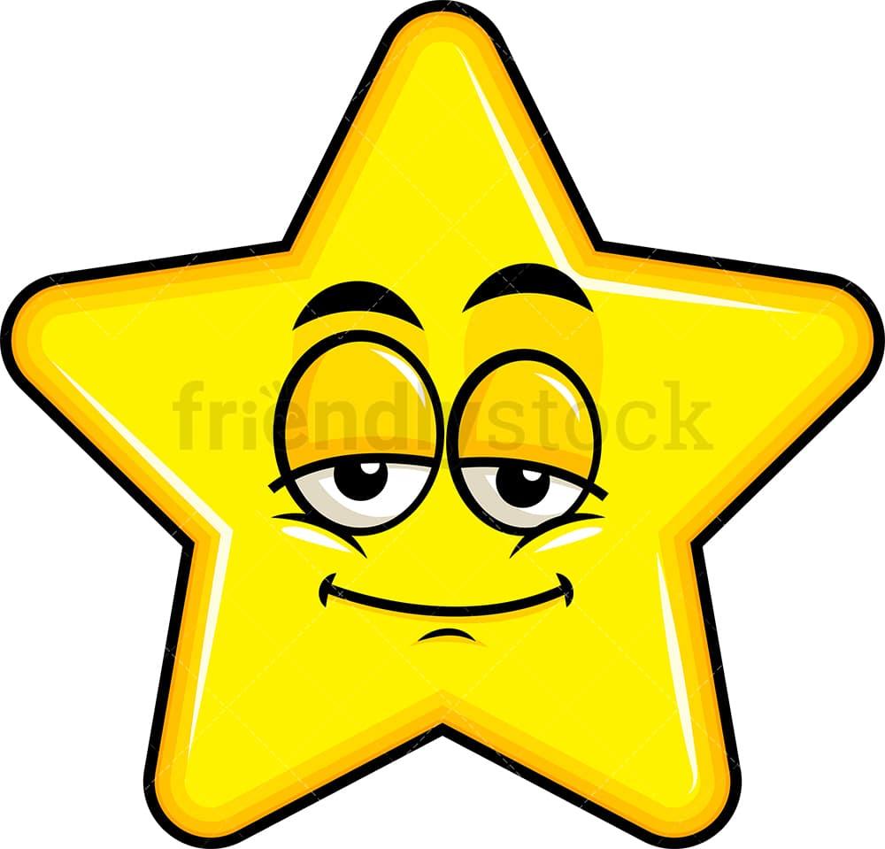Sleepy Star Emoji