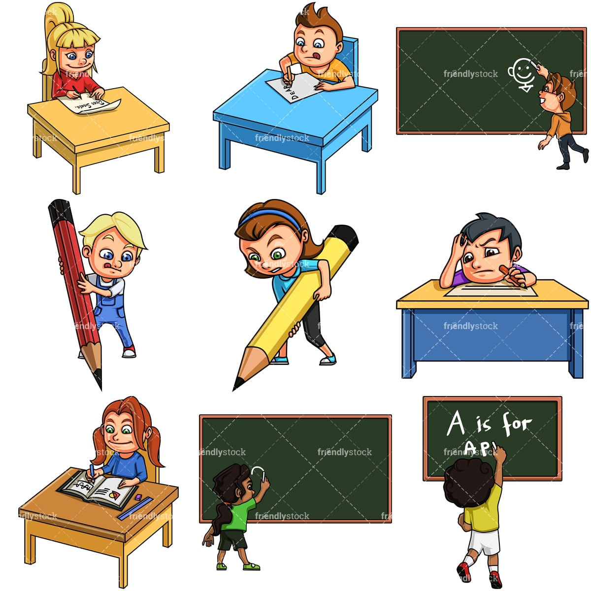 Student Learning Writing - Student Writing Clipart Png Transparent Png  (#1767792) - PinClipart