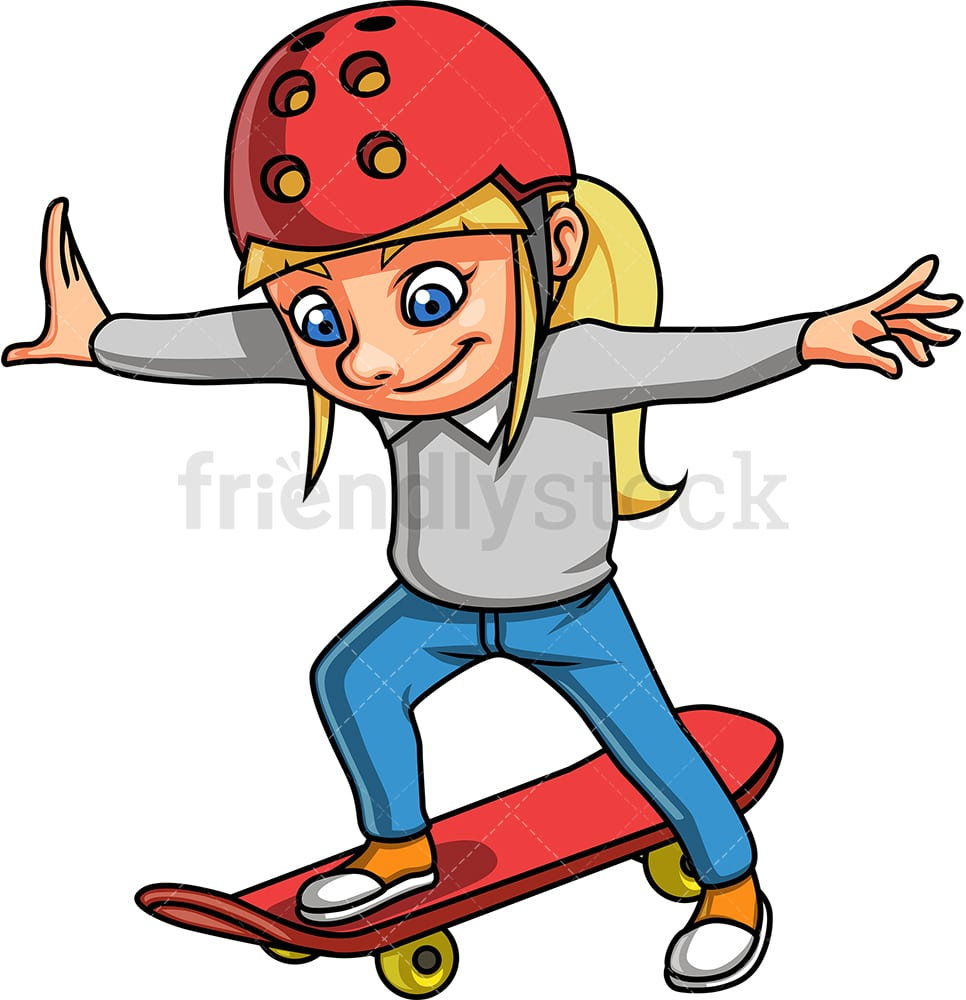 Skateboarding Clipart