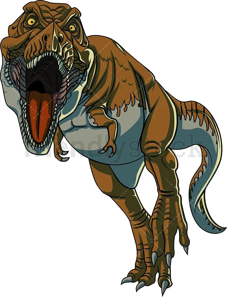 T-rex Dinosaur Clipart   Dinosaur images, Dinosaur illustration, Dinosaur  mural