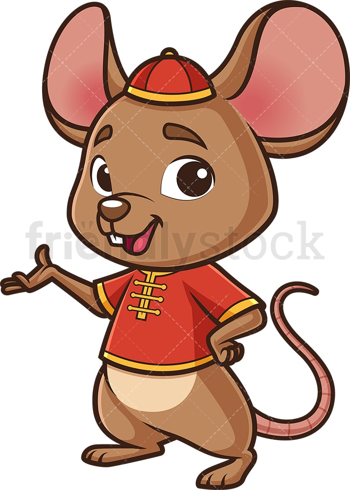 chinese happy new year rat cartoon clipart vector friendlystock chinese happy new year rat cartoon clipart vector friendlystock
