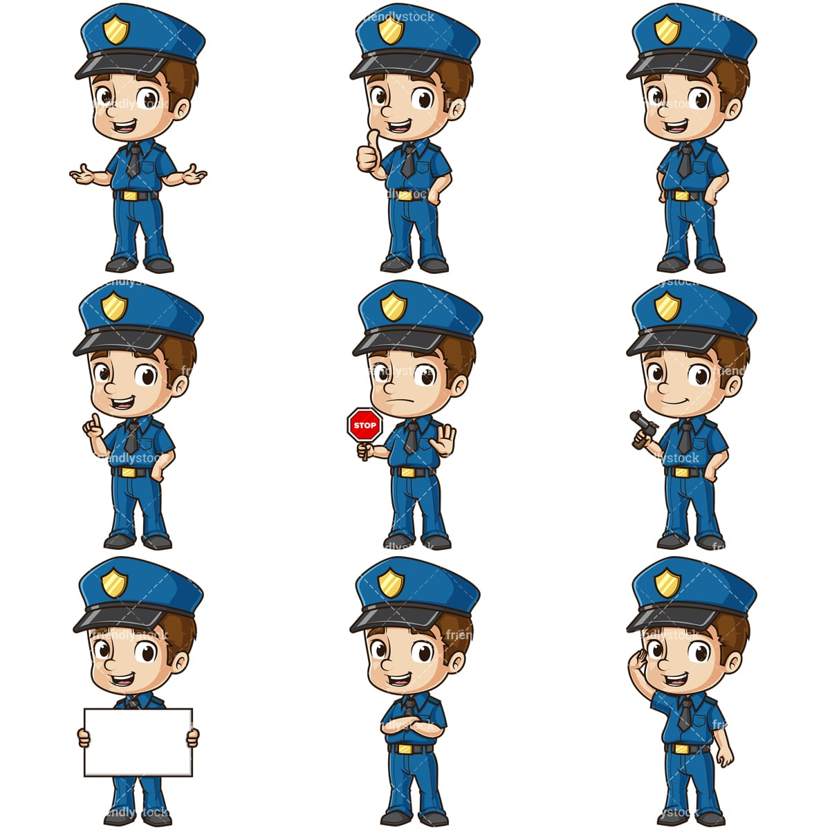 Laughing Policeman Stock Illustrations – 82 Laughing Policeman Stock  Illustrations, Vectors & Clipart - Dreamstime