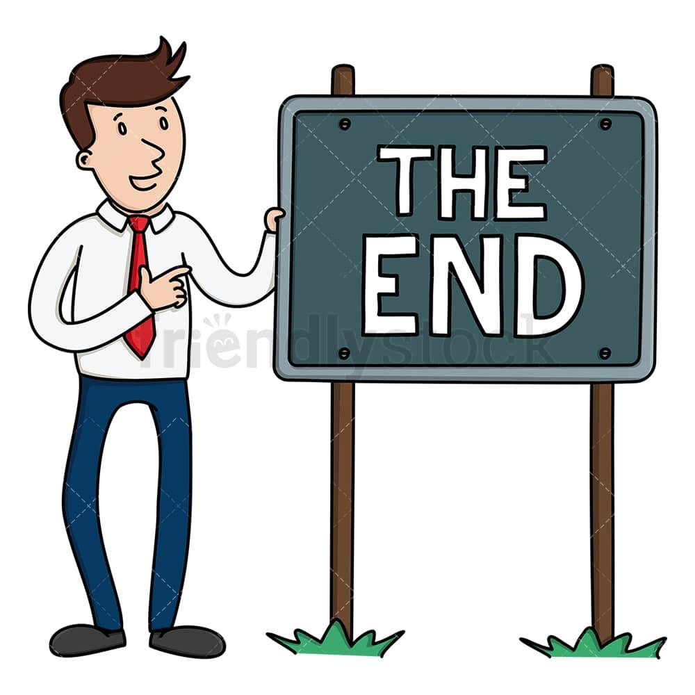 The End Clip Art